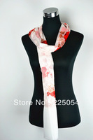 Red Beauty High Quality Different Colours Hot Purity Plain Pashmina Silk Scarf