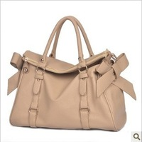 Free shipping Hot-selling gold meters millet women's handbag nude color shoulder bag handbag
