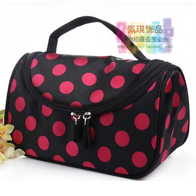 Fashion small handbag cosmetic bag wash bag cosmetic bag storage bag(China (Mainland))