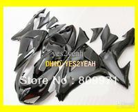 Complete gloss black Fairing for KAWASAKI ZX10R 06-07 ZX-10R 2006-2007 10R 06 07 ZX 10R 2006 2007