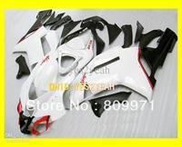 Hot-selling!! white Fairing for KAWASAKI Ninja ZX6R 07 08 ZX-6R 07-08 ZX 6R 2007 2008 6R 636 07 08