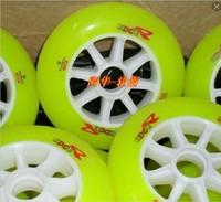 Original speed skating wheel wheels big wheels pie wheel skates   4PCS