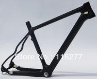 """26"""" Wheel - Full Carbon 3K Matt Matte Mountain MTB Bike BSA Frame  17"""" , 19"""" , 21"""""""