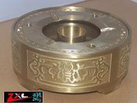 Free postage,The ashtray ,Brass ashtray,The manual processing ,china pattern