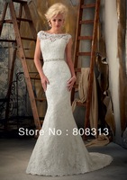 Sexy 2013 White/Ivory Lace Wedding Dress Custom Size:6 8 10 12 14 16 18 20+++