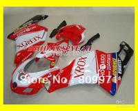 Newest XEROX red white Fairing for DUKATI 749 999 05 06 749 999 2005 2006 749 999 05 06 2005 2006