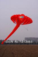 Free Shipping! 3.8 m single Line Stunt The elephant POWER Sport Kite / Three color