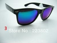 2140 RB colour sunglasses black frame 4 colour brand designer 2013 men's lady's sunglass blue gold lens sports glass
