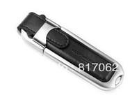 DHL FREE!100% Full Capacity VFD-4002 leather USB Flash Drive 1GB 2GB 4GB 8GB 16GB usb flash memory 2.0 free logo print