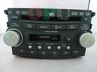 Acu  TL 2007 2008 6-DISC CHANGER CD/DVD MP3 WMA AUX AM FM cassette radio 39100-SEP-A600 DVD AUDIO OEM FACTORY