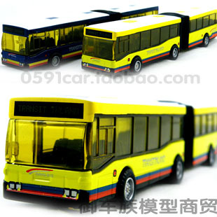 5-29 Double bus toy car alloy WARRIOR bus alloy car model Free Shipping