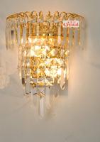 Wall lamp crystal wall lamp fashion wall lamp modern brief bed-lighting wall lights 8159