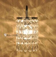 free shipping crystal wall lamp indoor wall mounted lighting wall sconces E14 110V 220V
