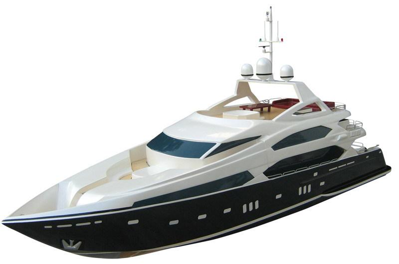 Ems Livraison Gratuite Rc Bateau Ep Brushless Gros Bateaux Sunseeker Trois Ponts Yacht De Luxe