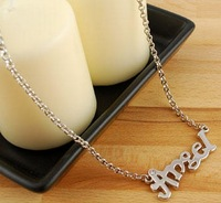 Min. Order is $10 ( Can Mix order ) ! Accessories letter necklace xl457