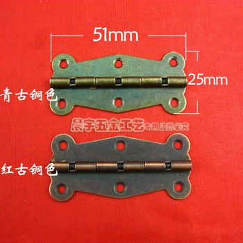 Antique d049 laciness hinge long hinge wine box small hinge hardware wooden box hinge diy accessories