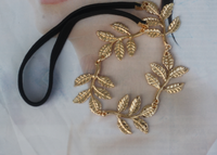 Min. Order is $10 ( Can Mix order ) ! Accessories fashion accessories gold leaves short design necklace x561