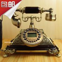 Fashion phone fashion antique dial telephone vintage telephone ecclesiarchy throne