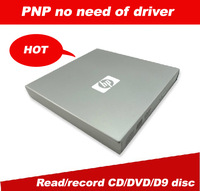 Original product external USB2.0 drive tray-type DVDRW DVD burner with lightscribe function low noise free shipping