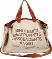 New Fashion Handbag ZLC Canvas Handbag Women Designer Handbag Leather Bag Free/Drop Shipping