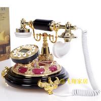 Fashion phone landline telephone vintage telephone rustic antique telephone