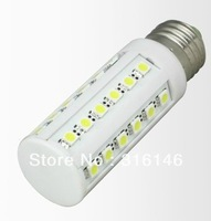 DHL free shipping E27 or E14 for option 6W 36PCS SMD 5050 Epistar 550lm LED corn light LED corn lighting LED corn lamp LED Bulb