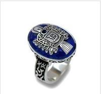 Min. order $9 Fashion hot-selling sitcoms salvatore damon vintage gold stone ring JZ081