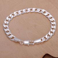 Free Shipping 925 Sterling Silver Jewelry Bracelet Fine Fashion 8MM Sideways Bracelet Bangle Top Quality SMTH246