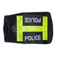 Free Shipping Police Dog Vest Pet Clothes Apparel Coat Black 6#