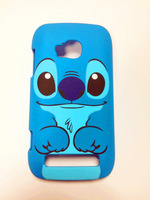 New plastic cartoon stitch hard back case cover fit  for Nokia Lumia 710 N710 blue dog protector hard shell