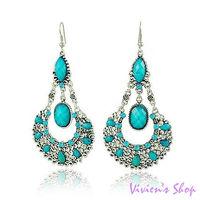 1 pair Free shipping Victorian Style Earrings Vintage Dangle Earrings E021