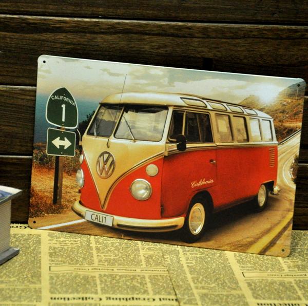 Online kopen wholesale vw metalen bord uit china vw metalen bord groothandel - Gratis huis deco magazine ...