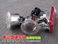 Forcedair car atv accessories small bull lamps atv headlight rear light full set