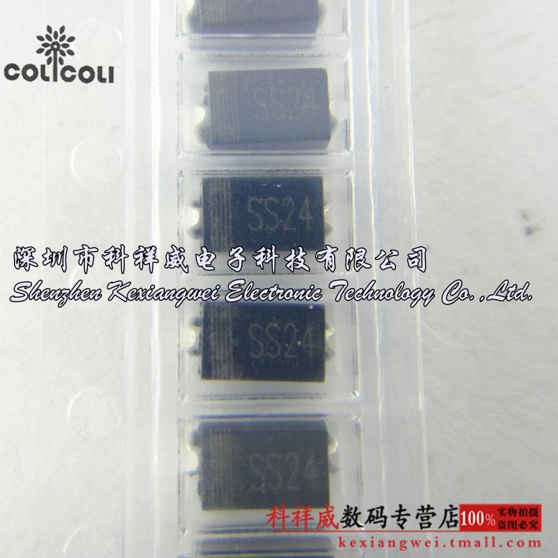 Schottky Diode Construction Schottky Diode Ss24 2a 40v