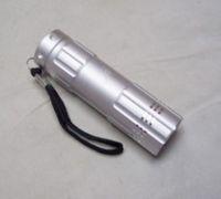 Led cold light source flashlight 9 led light emitting diode hindchnnel