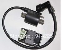 IGNITION COIL AND CDI BOX CHINESE ATV QUAD DIRT BIKE CG125, 150CC 200CC 250CC    freeshipping