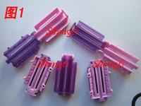 Hairdressing tool iniraq fluffy whoppinghair iniraq bars invisible corn horizontal bar clip