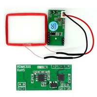 UART 125Khz RFID EM4100 Card Key ID Reader Module RDM6300 (RDM630) For Arduino