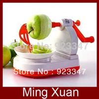 Free Shipping Hot Sale Creative Kitchen Machine Tool Fruit Apple Pear Peeler Cutter Slicer 1pcs/lot