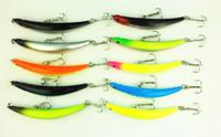 Hot selling,10 colors 9cm/8.2g smaller Bend Dying fishing lures,Pencil fishing hard bait,fishing hooks,50pcs/lot,Free shipping