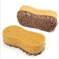 Auto supplies high quality 8 plush car wash sponge cleaning sponge car cleaning sponge