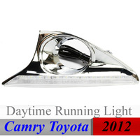 Top Quality ! Camry 2012 Toyota Daytime Running Lights LED Daylight DRL Auto Car DRL Fog Lamp Free Shipping Via HK Post