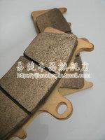 Kawasaki brake pads zx12r zx9 zx6 r r front brake pads gold