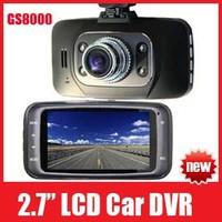 "NEW HD 1080P 2.7"" Car DVR Vehicle Camera Recorder Dash Cam G-sensor HDMI Night Vision Carcam Black Box GS8000 Free Shipping"