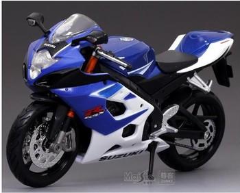 !!2013 HOT ! Maisto 1:12 Suzuki GSX R1000 sport  With suspension Alloy super motorcycle Model !  freeshipping !