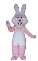 AM2046 pink bunny rabbit mascot costume halloween dress mascot outfit  party costumes mascot custom mascot