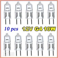30pcs 12V 10W G4 base JC bi pin halogen light bulbs lamp lamps