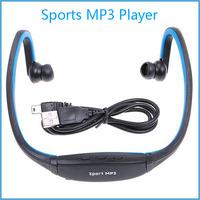 New Earphone Sports MP3 Music Player Wireless MP3 Player WMA Digital Headset Headphone Free Shipping