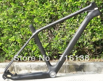 "FR-207 Full Carbon Matt 26ER Mountain MTB Bike Bicycle Frame BB30   , Headset size  17"" , 19"" , 21"""