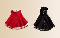 Retail New Brand Baby Girl's Warmer Jacket/Girl's Outerwear/Children's Windbreaker/Kids Woolen cloak/manteau